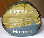туристическая палатка Marmot Tungsten вес