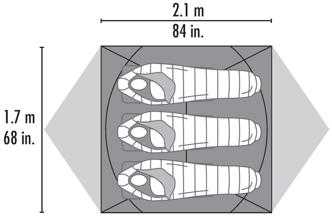 палатка MSR Mutha Hubba HP