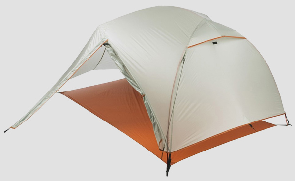 палатка Big Agnes Copper Spur UL2 и футпринт