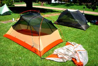 палатки MSR Hubba Hubba Big Agnes Copper Spur UL2