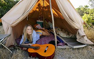 туристическая палатка для отдыха