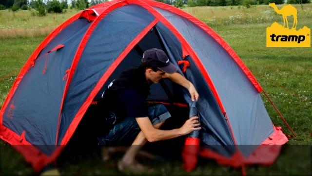 палатка с внешним каркасом выбор
