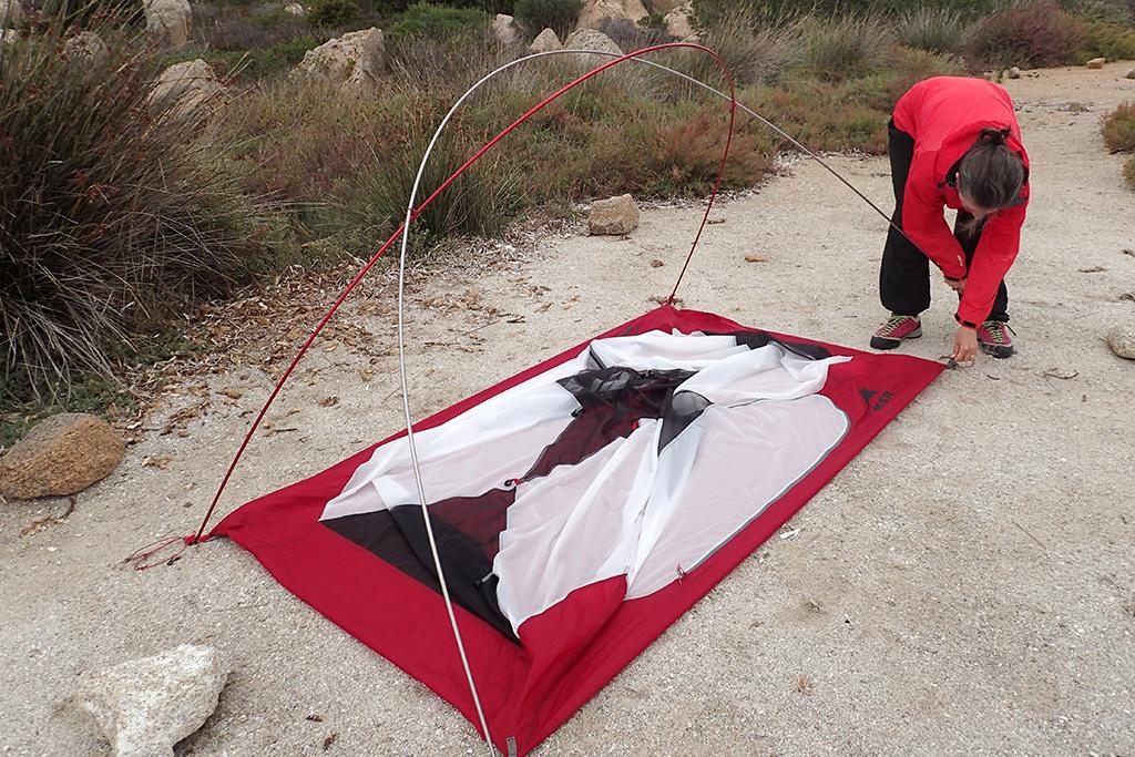 туристическая палатка msr elixir