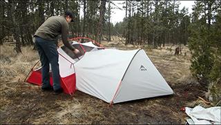палатка msr hubba hubba и тамбур msr gear shed купить в москве
