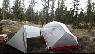 палатка msr hubba hubba и тамбур msr gear shed купить в санкт-петербурге