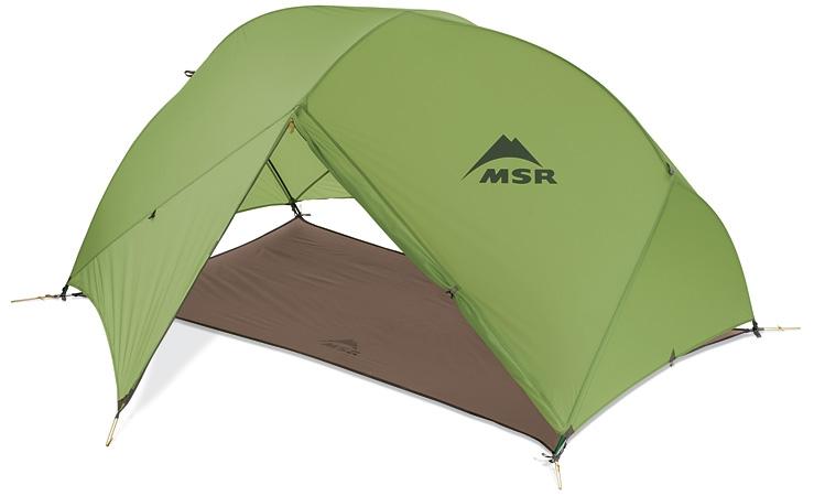 палатка MSR Hubba Hubba горы