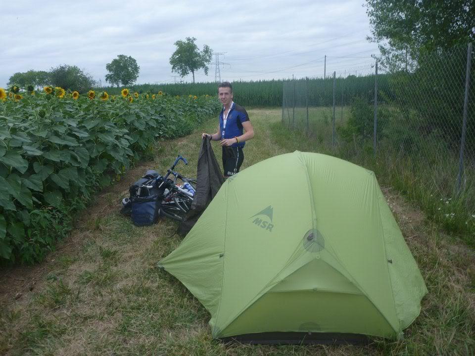 палатка MSR Hubba Hubba упаковка