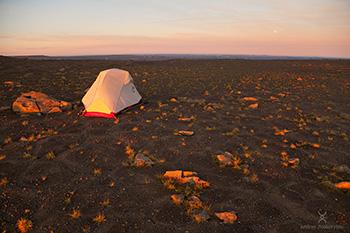 палатка msr в походе