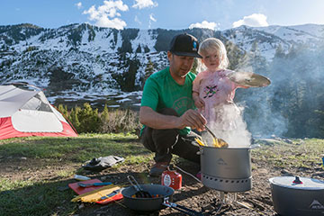 палатка для походов с детьми