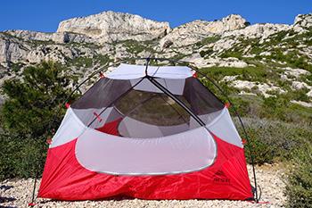 палатка msr вентиляция