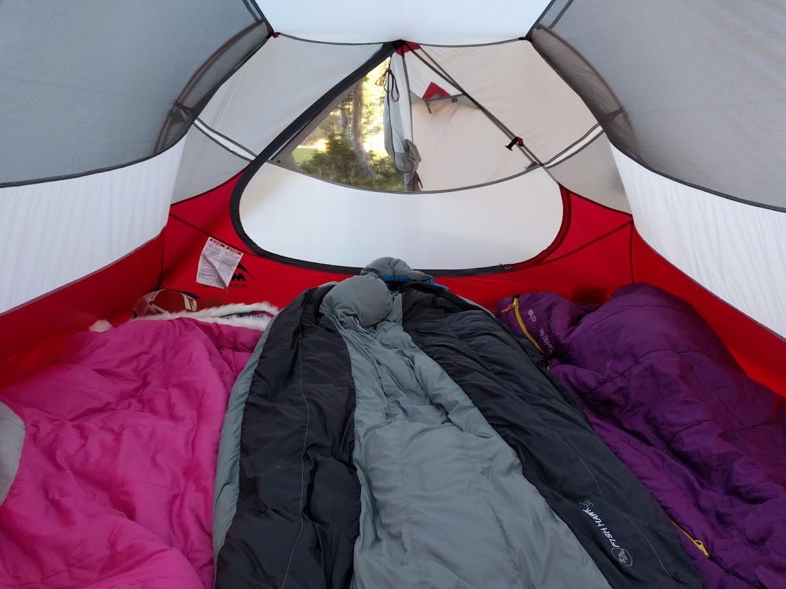 туристическая палатка msr mutha hubba nx