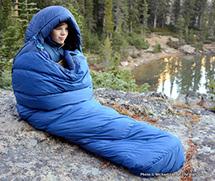пуховой спальник marmot купить