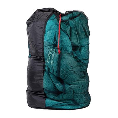 сетчатый мешок для хранения пухового спальника marmot women angel fire