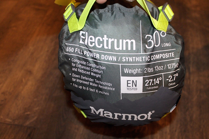 компрессионный мешок пуховой спальник marmot купить