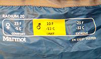 спальный мешок marmot radium купить